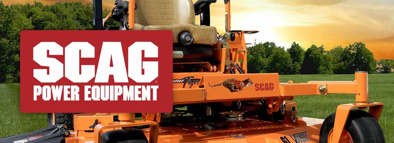More about Scag power equipment at Gilchrist