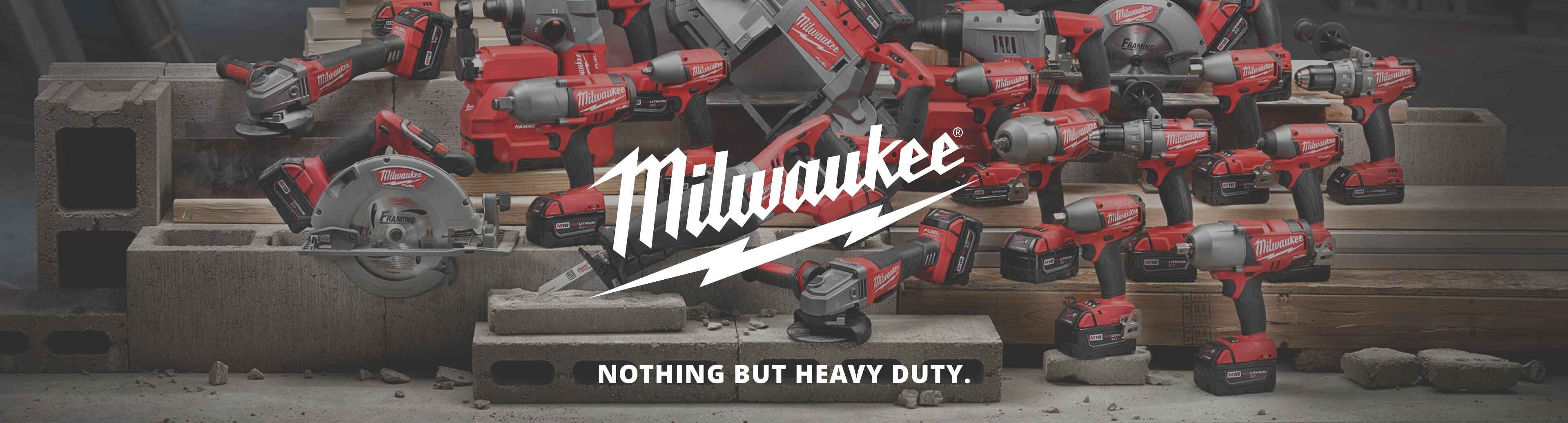 More about Milwaukee power tools at Gilchrist