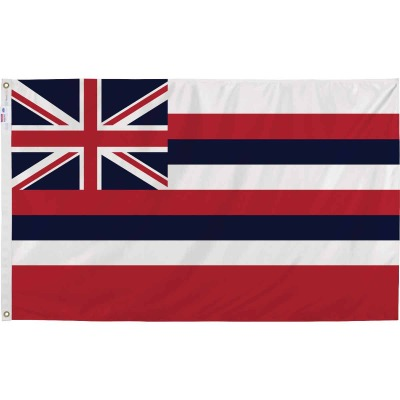 Valley Forge 3 Ft. x 5 Ft. Nylon Hawaii State Flag
