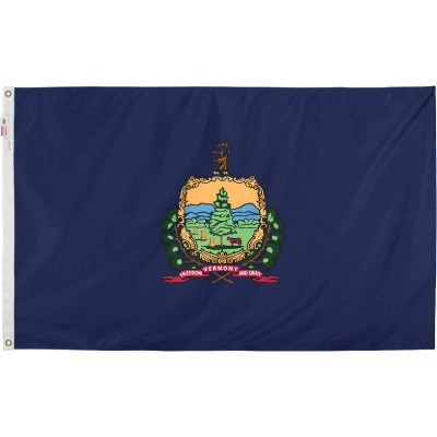 Valley Forge 3 Ft. x 5 Ft. Nylon Vermont State Flag