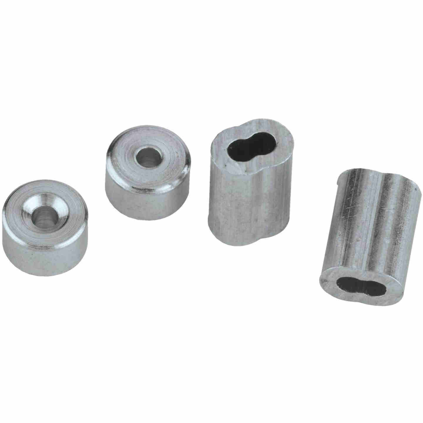 """Prime-Line Cable Ferrules And Stops, 1/16"""", Aluminum Image 3"""