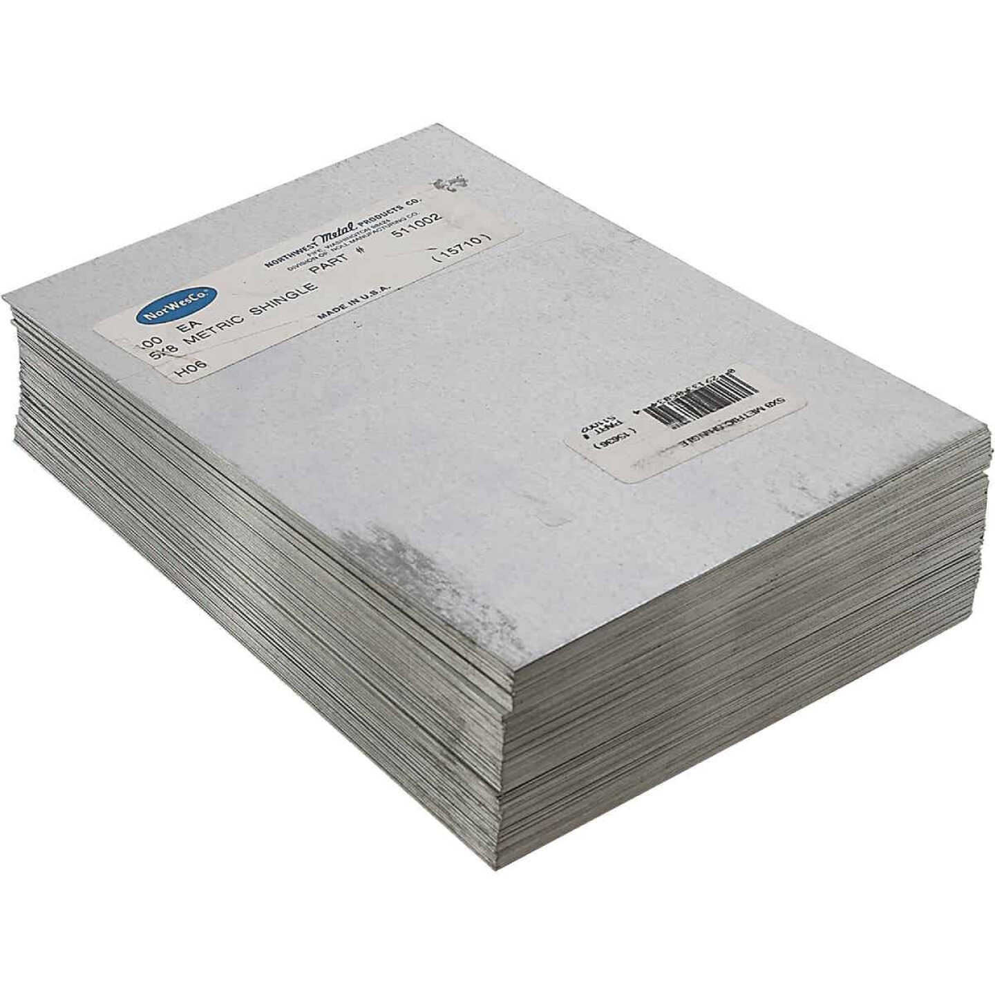 NorWesco 8 In. x 12 In. Mill Galvanized Step Flashing Shingle Image 3