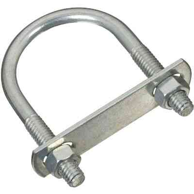 National 5/16 In. x 1-3/4 In. x 3 In. Zinc Round U Bolt