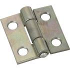 National 1 In. Zinc Tight-Pin Narrow Hinge (2-Pack) Image 1